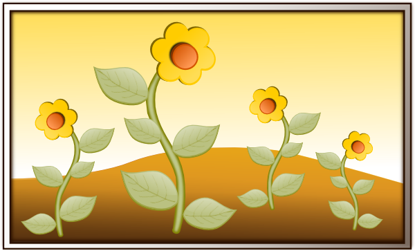 clipart garden flowers - photo #25