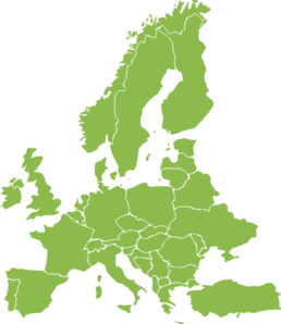 European Continent Green Clip Art at Clker.com - vector clip art ...