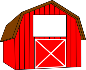 Red White Barn Clip Art