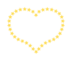 Metal Star Heart Clip Art