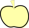 Golden Apple Clip Art