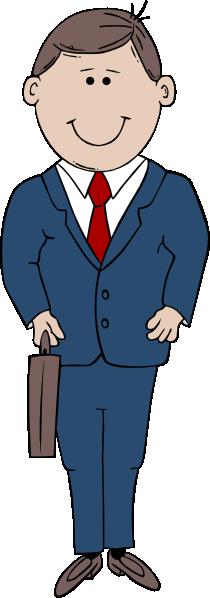 Businessman Cartoon Clip Art at Clker.com - vector clip ...