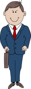 Businessman Cartoon Clip Art