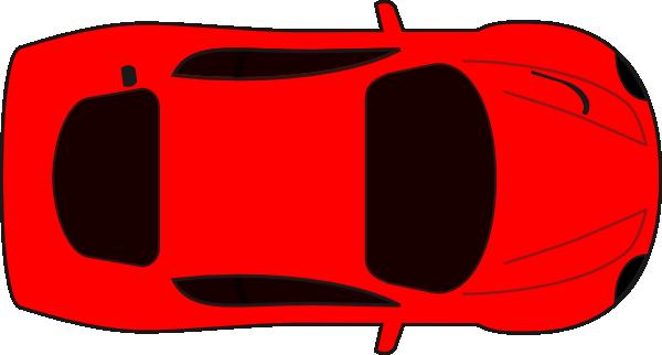 Clip art car top view