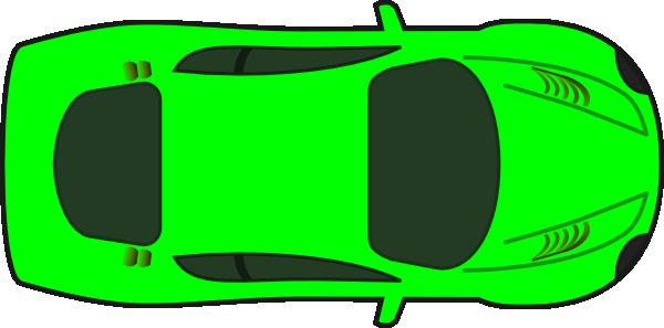 Lime Car Top View Clip Art At Clker Com Vector Clip