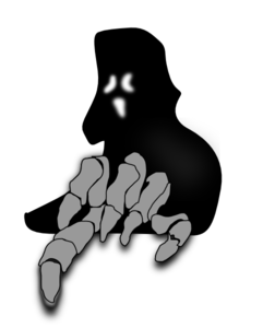 Scary Ghost Clip Art