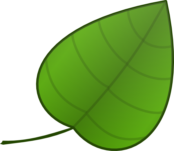 Simple Leaf Clip Art at Clker.com - vector clip art online ... Apple Safari Logo No Background