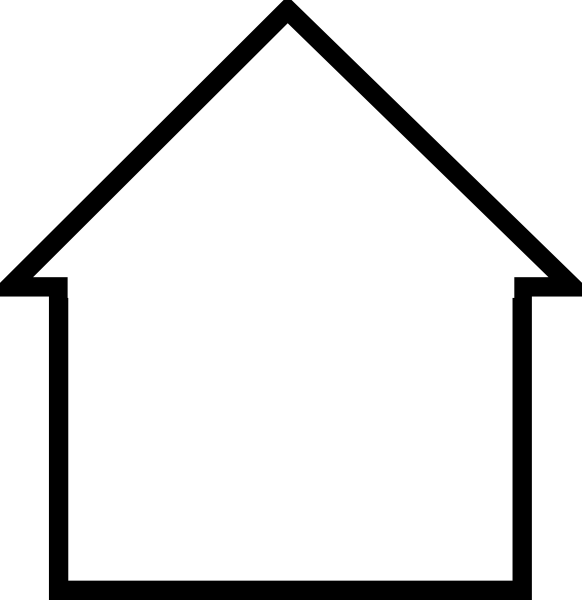 Line Art Images Of Houses : Sonya house clip art at clker vector online