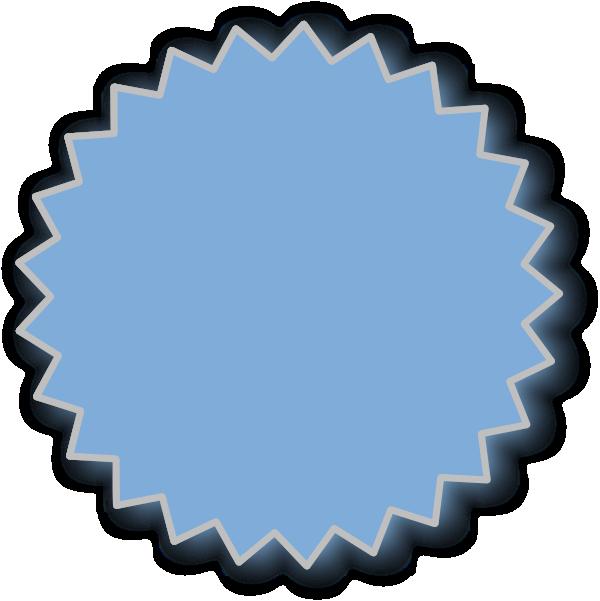 blue starburst clipart - Jaxstorm.realverse.us