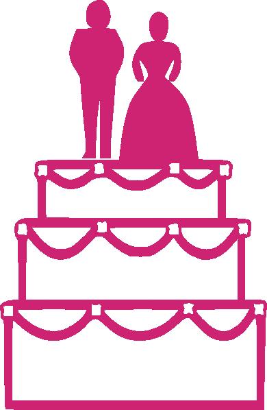 Cake Clip Art Pink : Wedding Cake Pink Clip Art at Clker.com - vector clip art ...