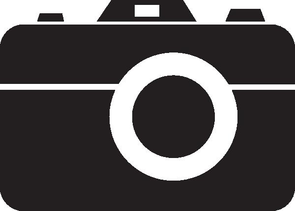 free camera clipart black and white - photo #32