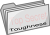 Top Secret Folder (toughness) Clip Art