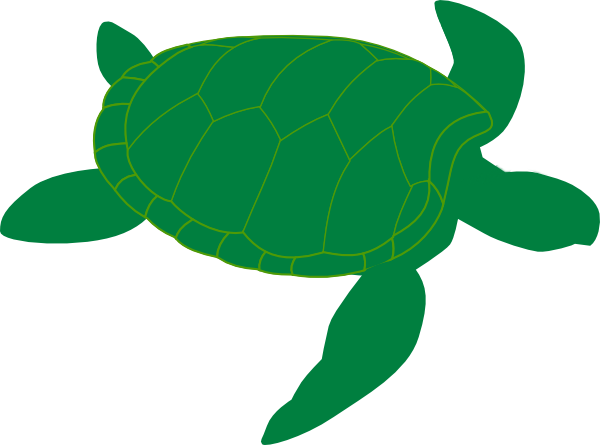 Marine Turtle Clip Art at Clker.com - vector clip art ...