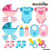 Clipart Baby Socks Image