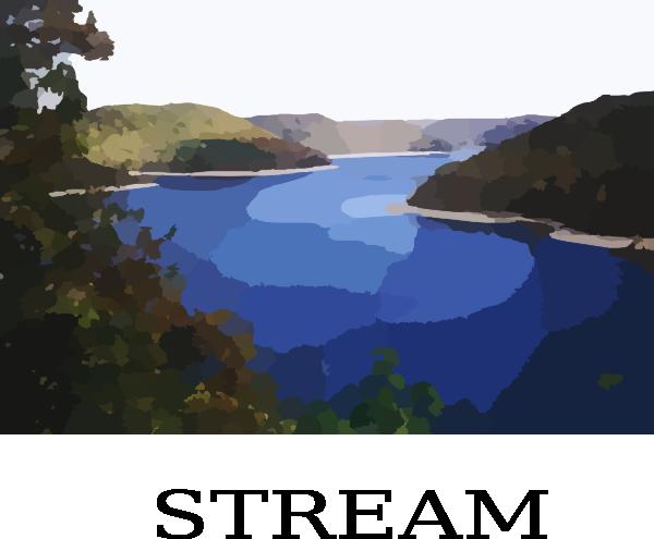 Stream Clip Art At Clker Com Vector Clip Art Online