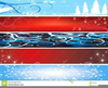 Christmas Banners Free Clipart Image