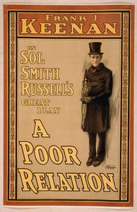 Frank J. Keenan In Sol Smith Russell S Great Play, A Poor Relation Image