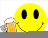 Clipart Drunk Smiley Face Image