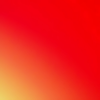 Yellowish Orange And Pinkish Red Square Wallpaper Background Image