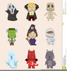 Cartoon Halloween Cat Clipart Image