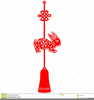 Chinese New Year Rabbit Free Clipart Image