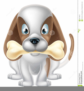 Cartoon Dog Bone Clipart Free Images At Clker Com Vector