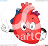 Human Heart Clipart Black And White Image