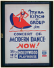 Myra Kinch & Group In Concert Of Modern Dance Now! Image
