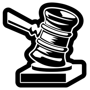 Clipart Justice Hammer Royalty Free Vector Design Law Clipart Image