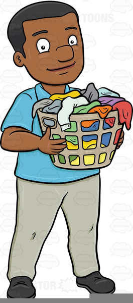 Man Doing Laundry Clipart | Free Images at Clker.com ...