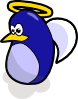 Angel Penguin Clip Art