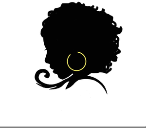 Natural Black Hair Clipart Free Images At Clker Com