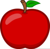 Big Apple Clipart Image