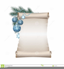 Blank Scroll Paper Clipart Image