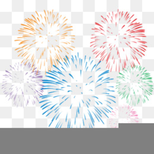 Firework celebration. Free clipart fireworks images