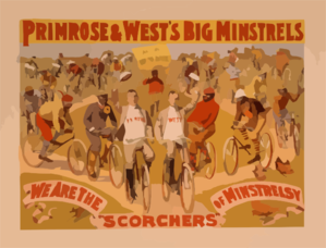 Primrose & West S Big Minstrels Always Up To Date. Clip Art