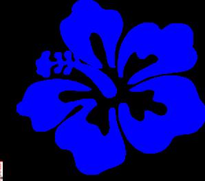 blue tropical flower clip art at clker com vector clip art online rh clker com Tropical Plant Clip Art tropical flower clipart vector