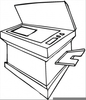 Free Copy Machine Clipart Image