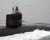 Uss Florida (ssbn 728) Makes Its Way To Its New Homeport At Naval Station Norfolk. Image