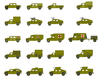 Military Generator Clipart Image