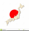 Flag Of Japan Clipart Image