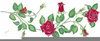 Thorny Rose Clipart Image