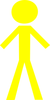 Yellow Stick Person Md Image