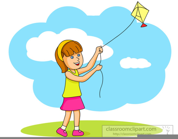 flying kites clipart free images at clkercom vector