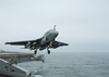 Ea-6b Launches From Uss Washington Image