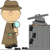 Clues Clipart Image