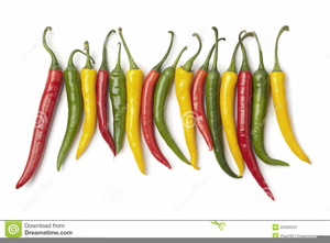 Red Chili Peppers Clipart Image