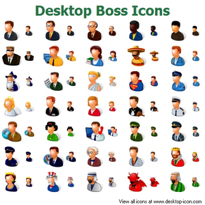 Desktop Boss Icons Image