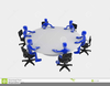 Round Table Clipart Free Image