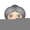Elderly Faces Clipart Image